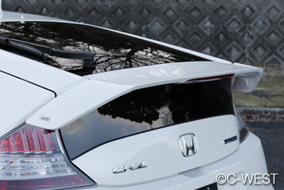 HONDA CR-Z ZF1 REAR SPOILER ABS